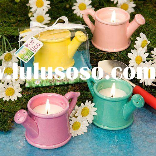 Watering Can Candle Favors