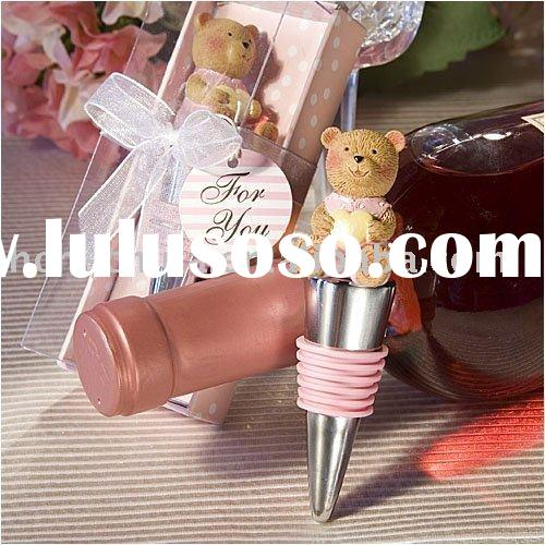 Wine Stopper, Baby Shower Gifts & Wedding Favors