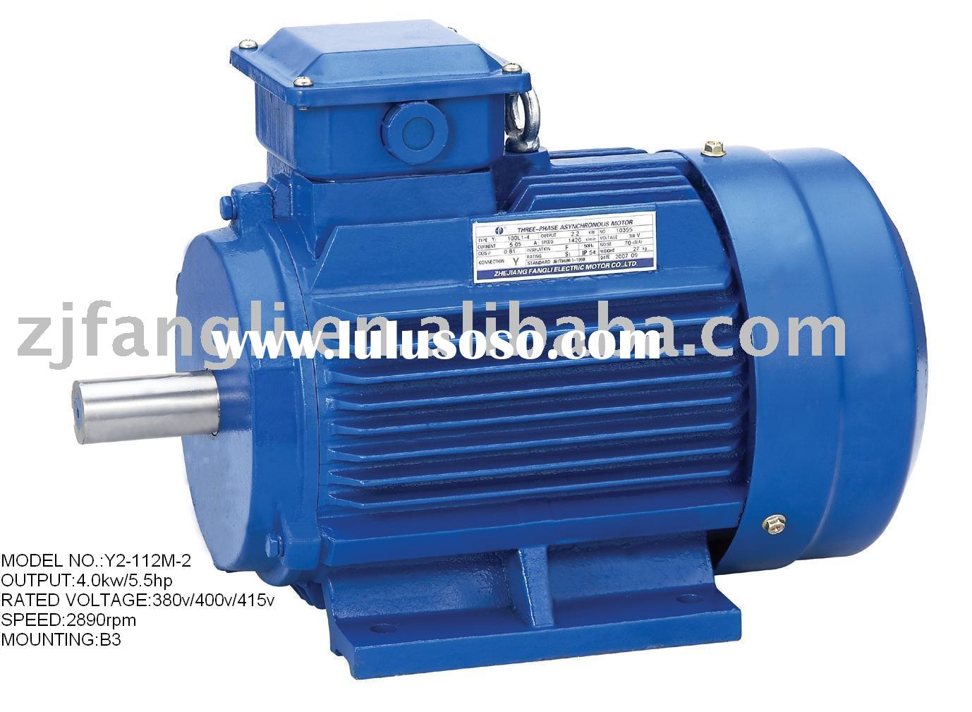 Ac gear motor three phase induction motor synchronous for Three phase induction motor