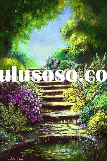 art craft oil painting,landscape painting