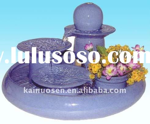 ceramic fountain, Indoor fountain, tabletop fountain