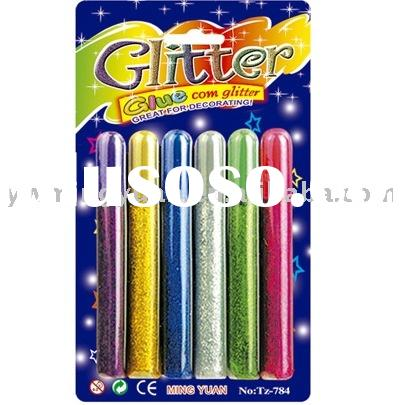 glitter glue pen/craft paint/drawing glue/3d glitter glue/sparking glue/color glue/art supply,holida