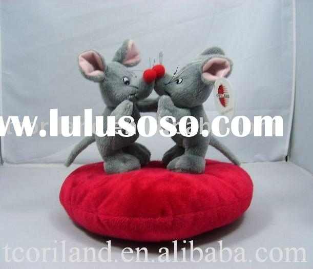 plush valentine mouse toys craft