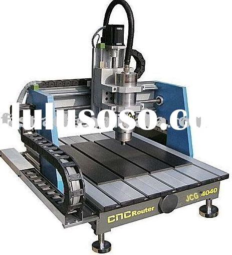 sell advertising cnc router/mini cnc engraver/cnc engraving and cutting machine JCG4040 for gifts &a