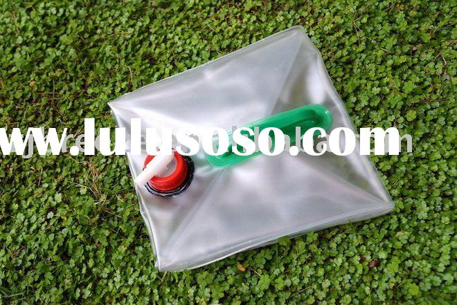 10 Litre Foldable Jerry Can/water container/water tank ( PVC material,with one handle)