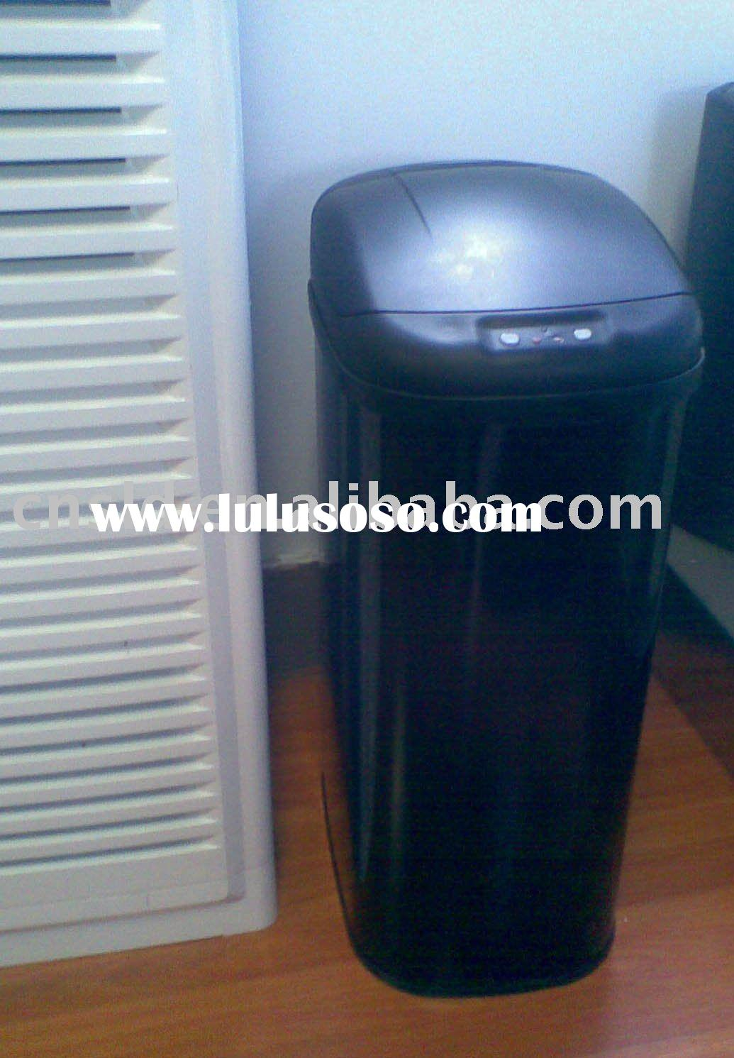 35L Home furniture Electronic Kitchen Auto Stainless Steel Trash can Trash bins
