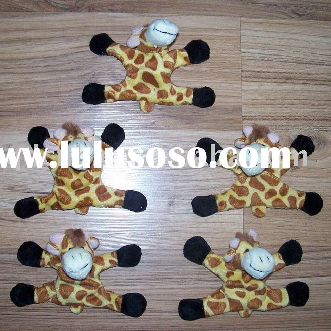 Magnet Giraffe Magnet Plush Giraffe Mini Plush Giraffe Keychain Stuffed Animal Mobile Phone String T