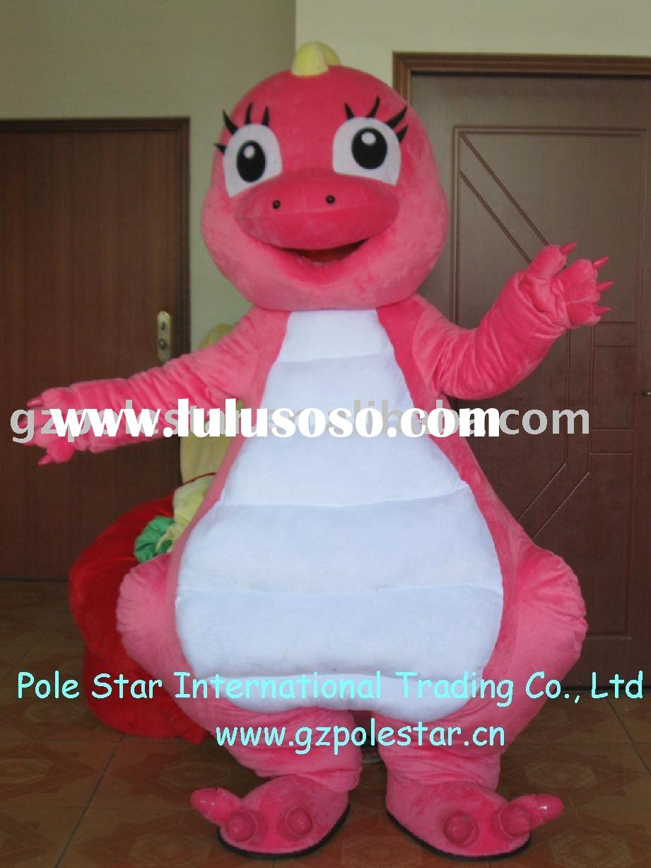 Pink Dinosaur Costume/Cute Animal Mascot
