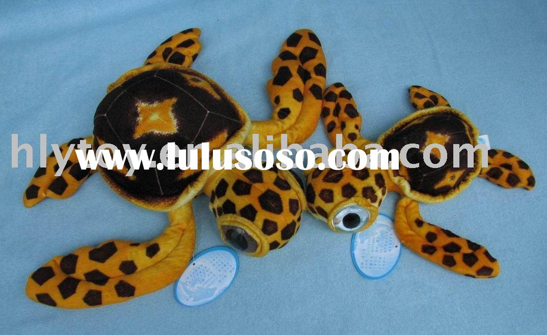 Plush sealife animal toy, big-eye turtle