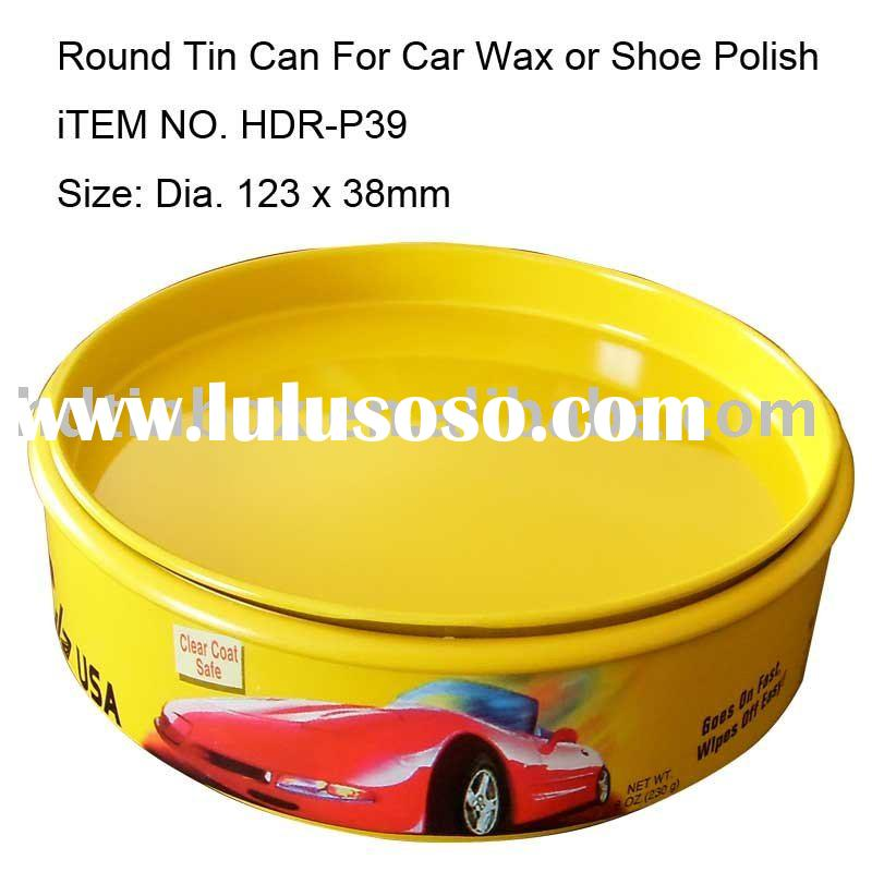 Polish and wax tin can