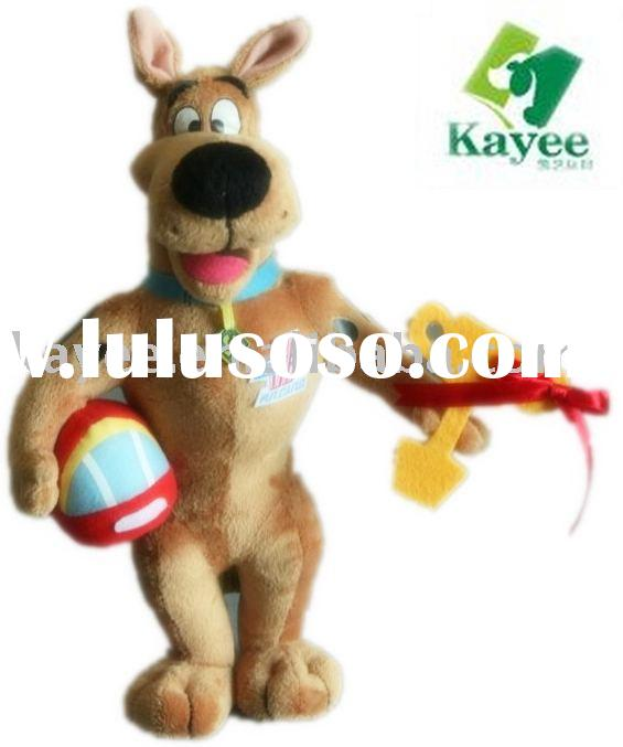 SCOOBY-DOO PUPPY PLUSH TOYS
