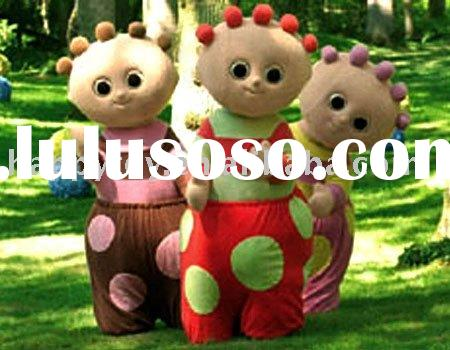 The night garden /plush costume/ carnival costume
