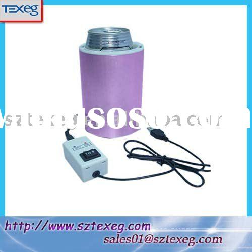 USB Beverage Can Cooler and Warmer