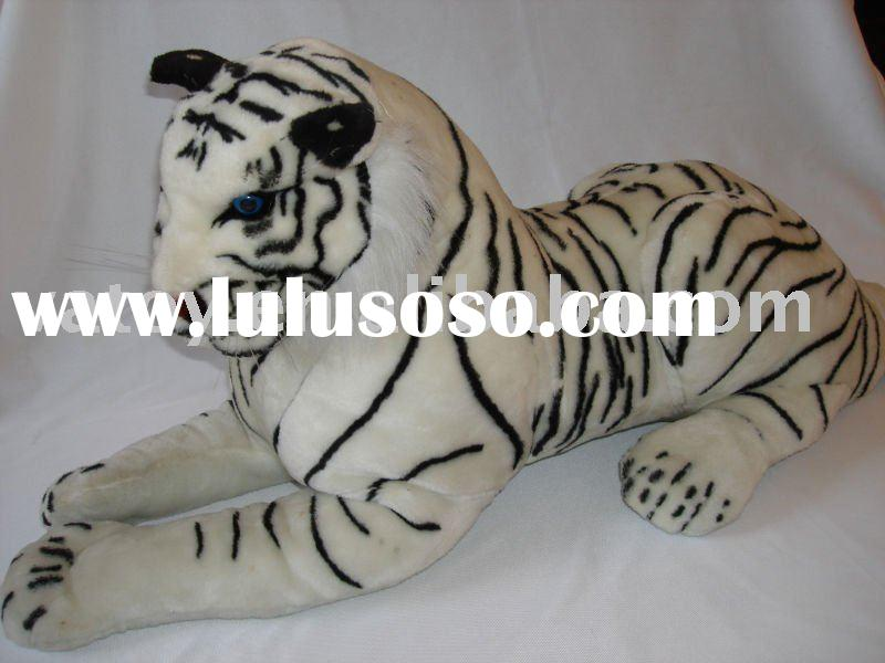 White Plush Tiger