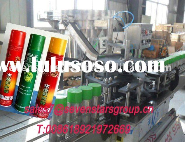automatic fire extinguishing agent aeroso can filling machine