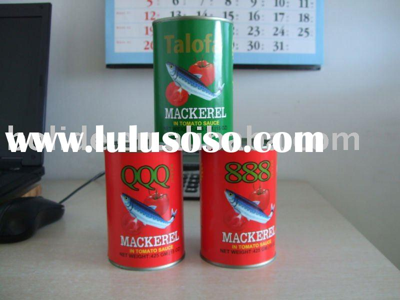 canned fish product