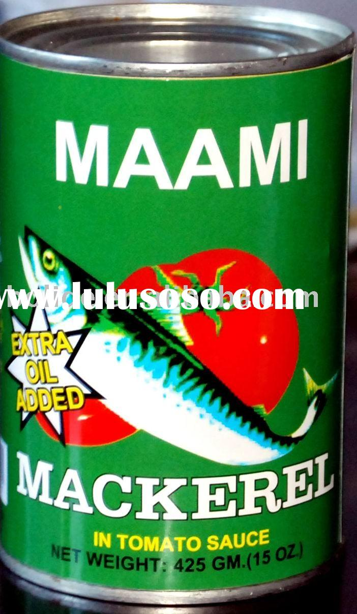 canned mackerel offer