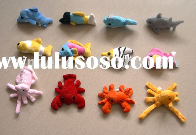plush sea animals magnet, stuffed magnet