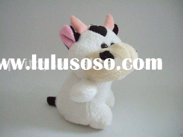 plush stuffed mini cow toy