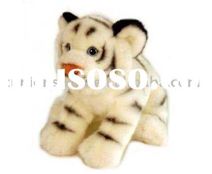 plush tiger toys(stuffed tiger toys,white tiger)