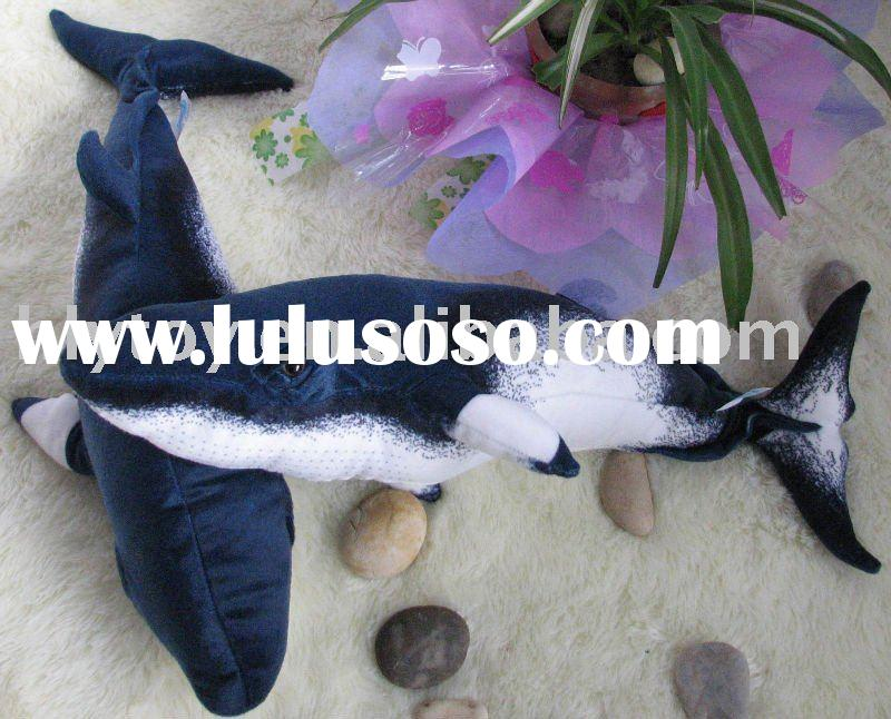 plush toy, stuffed animal, soft whale