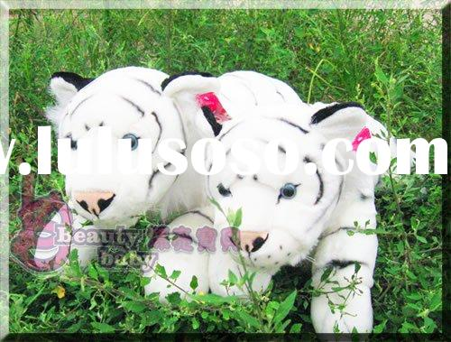 plush toy white tiger