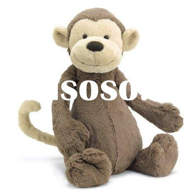 stuffed monkey plush animal toy soft toy