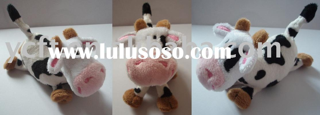 stuffed toys,plush animals,small cartoon plush Cow-08280