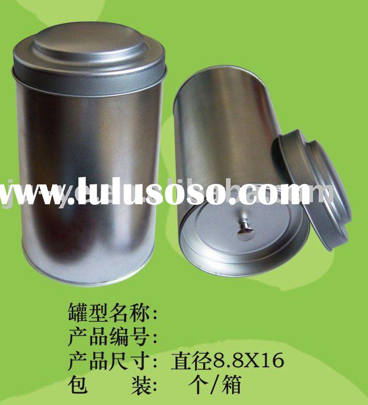 tea can,tea tin,tea box,tin can,tea case,round tin tea can
