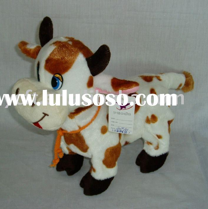 09041- cow,baby cow,cow toy,stuffed animals,plush toys,animal toys,stuffed toys(CE/ASTM)