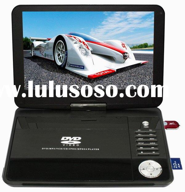 10.2 inch cheap Portable DVD player support RM/RMVB DVB-T