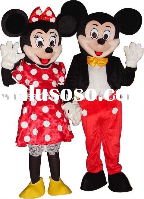 2011 New  Micky mouse mascot costume