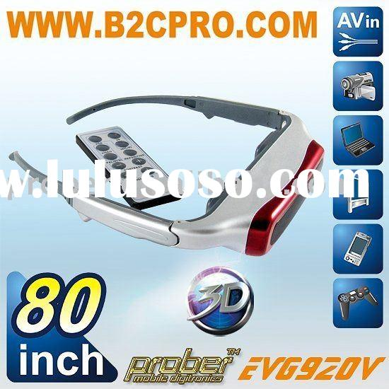 3D Home Cinema/ TV video Glasses/video eyewear with high resolution