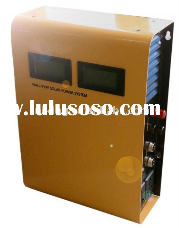 500W wall-type home solar power system