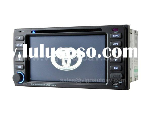 6'' HD Car DVD Player GPS for Toyota Corolla Hilux