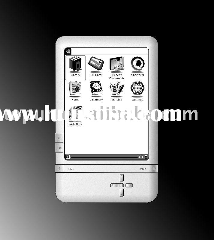 "6"" LG eink electronic ebook reader"