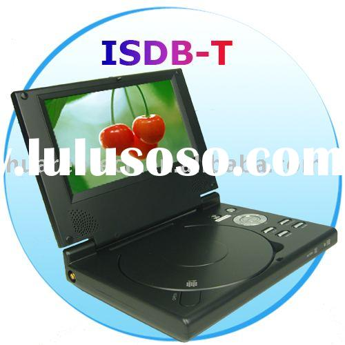 7 inch Portable DVD Player & ISDB-T digital TV