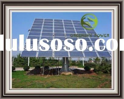 800W off-grid small solar home system - stay powered in 3 consistant raining days