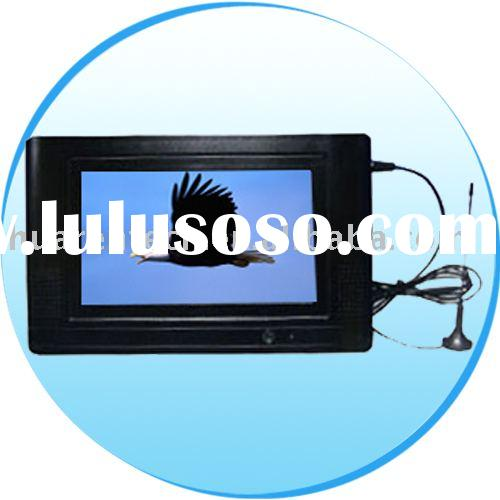 9 inch tablet portable DVD player with ISDB-T receiver
