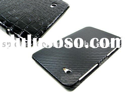 Back cover+leather case for Samsung Galaxy Tab P1000