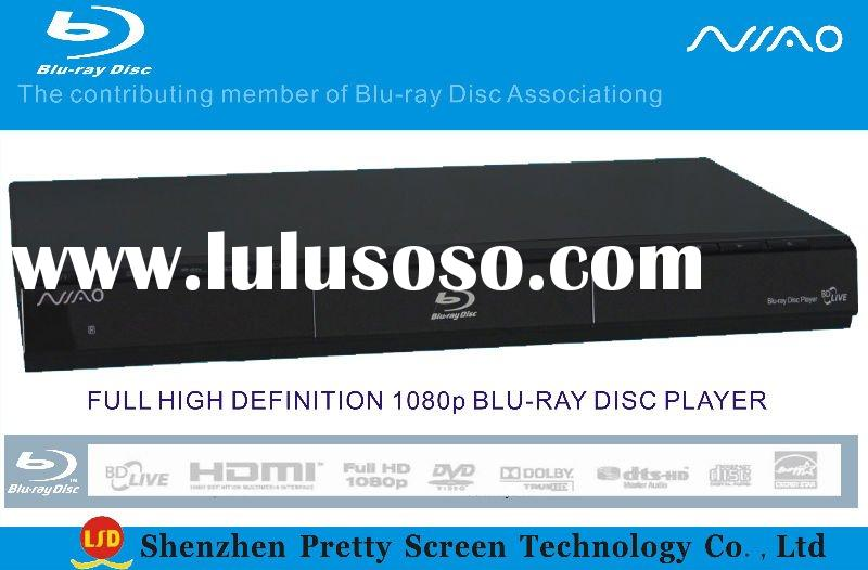 Bluray DVD Player with USB2.0
