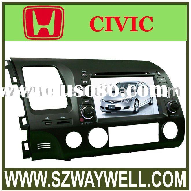 Car DVD Player for HONDA CIVIC with igo8.3 map digital panel