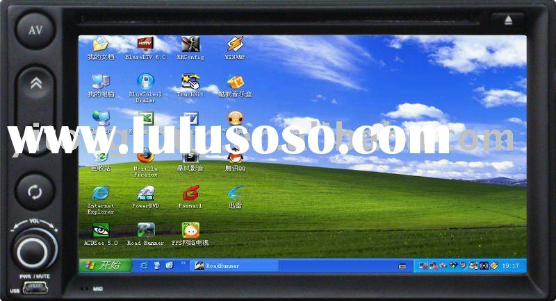 Car PC Car Computer 2 Din GPS DVD Player Windows XP Professional Edition WIFI