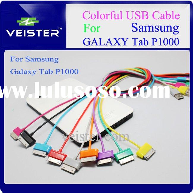 Colorful 2.0 USB Phone Cable for Samsung Galaxy Tab P1000