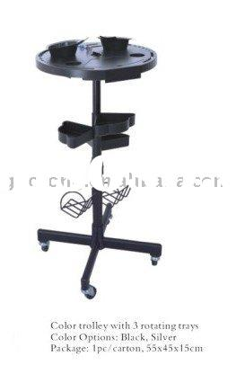 Coloring and Extension Trolley(hair trolley,tool cart)