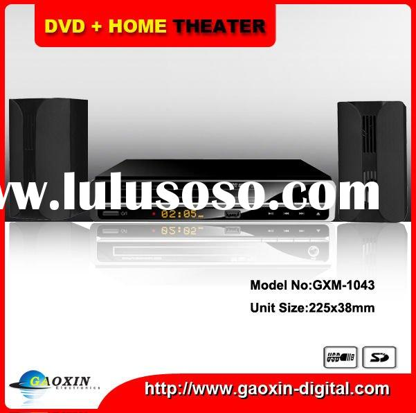 DVD Home theater system with USB