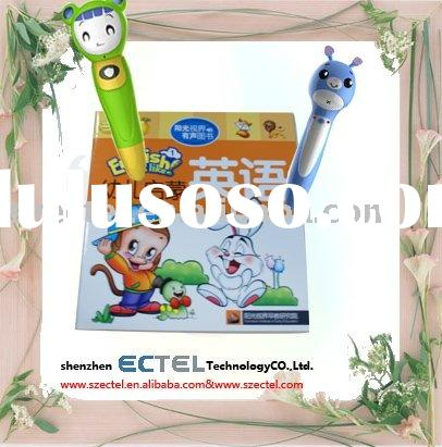 Educational toy-Multimedia electronic sound book with talking pen for children