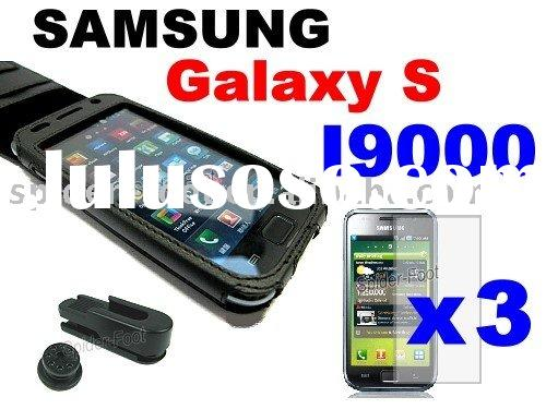 Genuine Leather Case with Belt Clip for Samsung I9000 Galaxy S