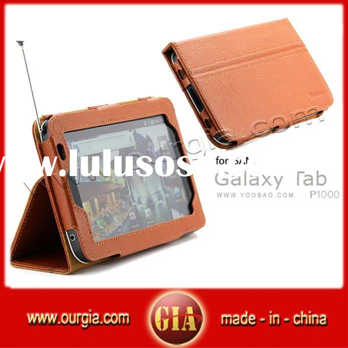 Genuine leather case for Samsung Galaxy Tab P1000 P1010