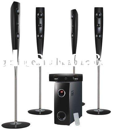 Home Theater,5.1 home theater column loudspeaker surround sound system with USB/FM/SD Carder reader